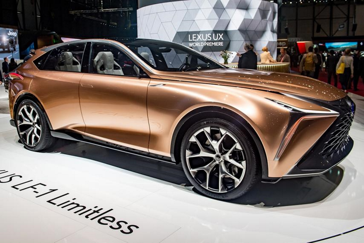 Lexus LF-1 Limitless. Фото: Robert Hradil/Getty Images