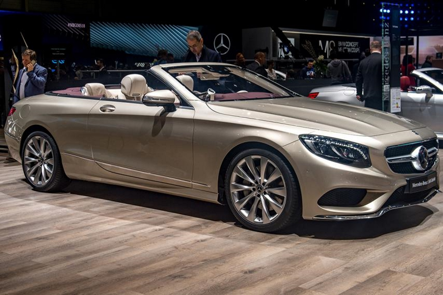 Mercedes Benz S 560 Cabriolet. Фото: Robert Hradil/Getty Images