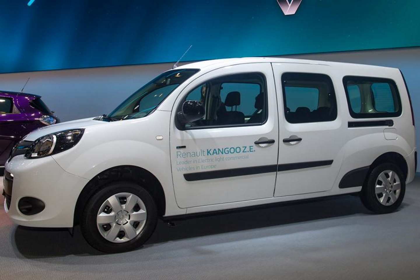Renault Kangoo ZE. Фото: Robert Hradil/Getty Images
